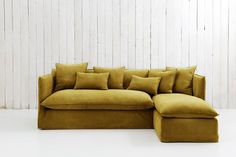 Possibly a Champaign color Chaise Sofa Bed