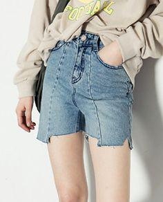 Shop here : sthsweet.com  #denim #dress #teen #cute #blue #style #chic #girl #street  #shorts