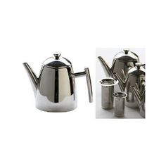 Looking at 'Frieling Teapot with Infuser - Stainless steel - 1.0 L' on SHOP.CA $55.