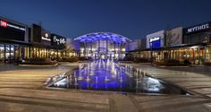 Mall of Africa zero level waterfeature
