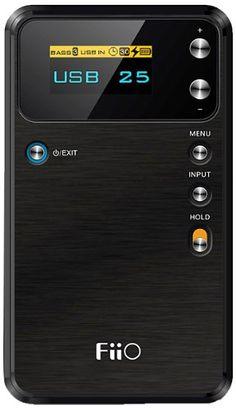 FiiO Alpen E17 USB DAC tragbarer Kopfhörer Verstärker (3.5 mm Stereo Jack, Schwarz): Amazon.de: Heimkino, TV & Video