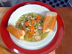 Turkey and Vegetable Soup Recipe : Emeril Lagasse : Recipes : Food Network