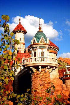Ariels Castle ~ New Fantasyland | Daily Disney Photos