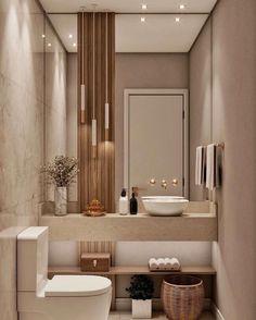 Washroom Design, Toilet Design, Bathroom Design Luxury, Modern Bathroom Design, Toilet Room Decor, Small Toilet Room, Home Room Design, Bathroom Inspiration, Bathroom Ideas