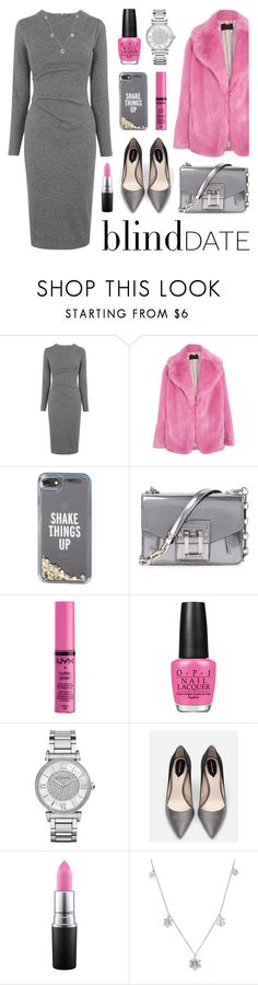 """""""Dare To Impress: Blind Date"""" by lgb321 ❤ liked on Polyvore featuring Whistles, J.Crew, Kate Spade, Proenza Schouler, NYX, OPI, Michael Kors, Zara, MAC Cosmetics and Crislu"""