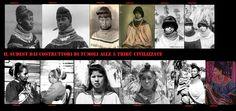 Le acconciature femminili nel sudest, come l'abbigliamento, si sono evolute a contatto della civiltà europea. Nelle più antiche descrizioni le donne portano i capelli lunghi e sciolti, in queste foto sono ritratte donne Seminole e Choctaw del XXsec.