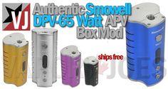 Vapor Joes - Daily Vaping Deals: FLASH SALE: AUTHENTIC SMOWELL 65 WATT BOX MOD - $3...