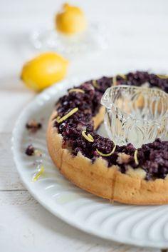 Eiweiß übrig? Wie wäre es mit einer Blauebeer-Zitronen-Visitandine?   Rezept   Französisch kochen