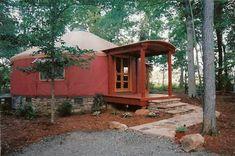 Beautiful Pacific yurt