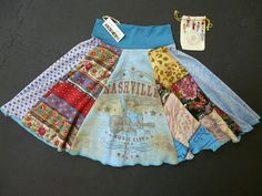 A really like the upcycled clothes