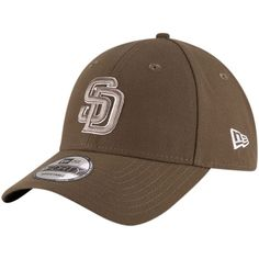 8639df6d5e5 Men s New Era Brown San Diego Padres The League Alternate 9FORTY Adjustable  Hat