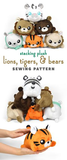"Search Results for ""Plush "" – Page 9 – Choly Knight Plushie Patterns, Animal Sewing Patterns, Crochet Patterns, Softie Pattern, Pdf Sewing Patterns, Softies, Plushies, Sewing Toys, Sewing Crafts"