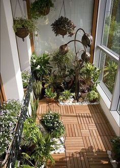 65 GENIUS WAYS TO TURN YOUR TINY OUTDOOR BALCONY SPACE INTO