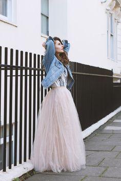e778bbac65 Tulle Wedding Skirt, Pink Tulle Skirt, Bridal Skirts, Long Tulle Skirts,  Tulle