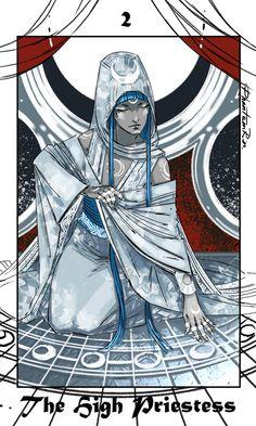 Tarot -2- The High Priestess