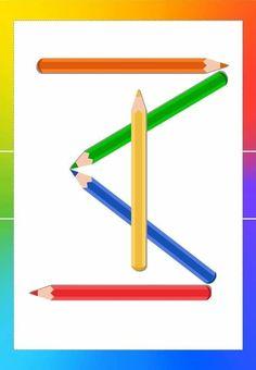 Cute Powerpoint Templates, Elementary Spanish, Aba, Preschool Activities, Montessori, Kindergarten, Barbie, Pencil, Puzzle