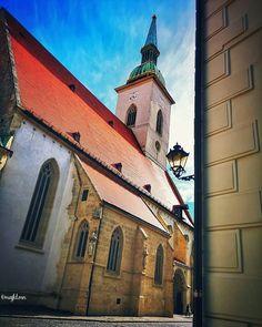 St Martin's Cathedral, Bratislava, Slovakia Bratislava Slovakia, Saints, Mansions, House Styles, Instagram, Santos, Manor Houses, Villas, Fancy Houses