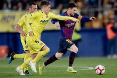 Villarreal v FC Barcelona - La Liga Santander Messi Goal Video, Lionel Messi, Fc Barcelona, Messi Goals, Basketball Court, Sports, Santiago, Yellow Submarine, Messi Photos