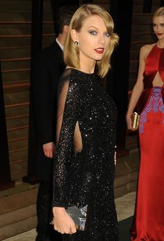 Taylor Swift HQ 2014 Vanity Fair Oscar Party in #emmkuo minaudiere