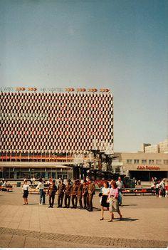 Alexanderplatz, East Berlin, 1989