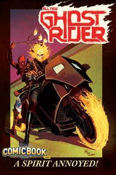 Deadpool Photobombs All-New Ghost Rider #8