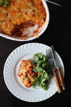 Dere, Meatless Monday, Lasagna, Risotto, Nom Nom, Healthy Recipes, Healthy Food, Vegan, Ethnic Recipes