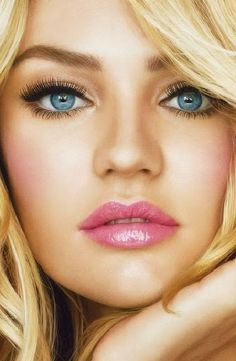 wedding makeup for blonde hair and blue eyes - wedding m. - wedding makeup for blonde hair and blue eyes – wedding m… wedding mak - Blonde Hair Blue Eyes Makeup, Blonde With Blue Eyes, Blue Eye Makeup, Wedding Makeup Blue, Wedding Makeup Tips, Hair Wedding, Blonde Haare Make-up, Beauty Makeup, Hair Makeup