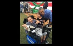 JJ Holmes is a young boy with cerebral palsy and although he can't vote, he wanted to make his voice heard. He asked his mother to take him…