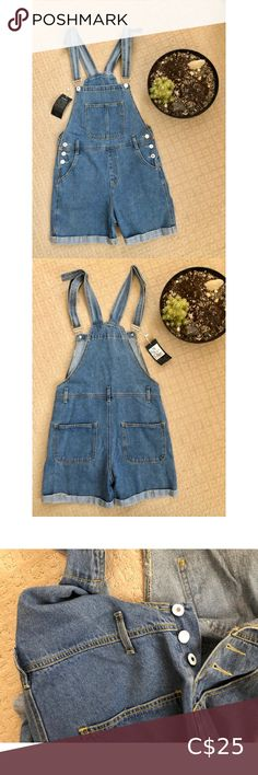 Jean Short Overalls Soft Jean material. Never worn before. Buttoned sides that open. Can be worn with a belt.    🛍Bundle 4+ items for 20% off order 🚭All items from a smoke free home 🏷See pictures for additional item details 🛒Fast shipping (Monday-Friday) 📦FREE shipping on orders $75+ ✉️Message me with any questions ✨Check out my Add On section for deals on fabulous items! Jeans Overalls Jean Short Overalls, Jean Shorts, Jeans Material, Monday Friday, Plus Fashion, Fashion Tips, Fashion Trends, Overall Shorts, Smoke Free