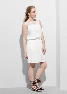 Rochie din material moale