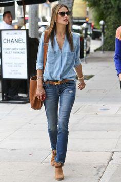 total look jeans, si et seulement si les accessoires sont parfaitement assortis