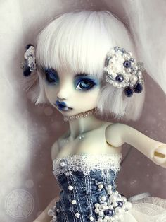 [Rhubarbe] Pearl Saphir | Flickr - Photo Sharing!