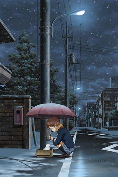 ...ma se tutti quelli che realizzano Pin meravigliosi ci mettono un ombrello...io che c'entro??