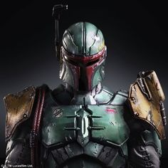 Square Enix Star Wars Play Arts Variant Figures - Boba-Fett-000