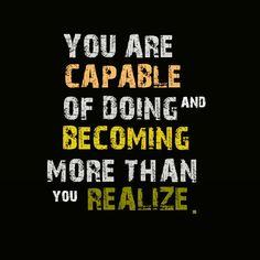 You are! New week=Opportunity!  #monday #magicmonday #mondaymotivation #youare #capable #realize #believeinyourself  #newweekmeansopportunity #motivation #transformation #adventuresofjac