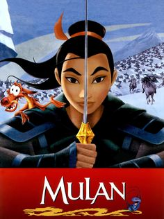 Mulan is one my top favorite Disney movie ever!