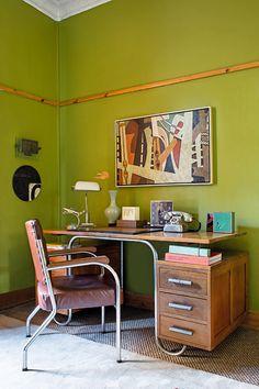 An art historian's characterful home in Kensington
