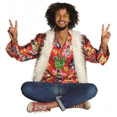 Veste hippie chic homme