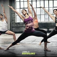 Ready to stretch your limits with a brand new BODYBALANCE?