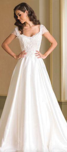 40124526628 Wedding dress idea  Featured  Justin Alexander Wedding Dress Necklines