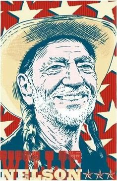 Willy Nelson. Godfather country music