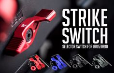 Strike Industries is now shipping the ambidextrous safety that we reported was coming soon at SHOT 2016. The Strike Switch is designed to allow the shooter to disengage and engage the safety with a solid firing grip thanks to the toggle style switch. Strike describes the action as intuitive, fast and ergonomic as you can …   Read More …