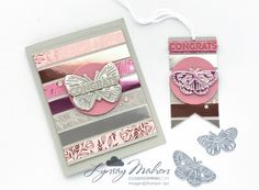 Stamping Sunday Blog Hop - Specialty Papers Foil Paper, Circle Punch, Specialty Paper, Butterfly Cards, Cloud 9, Paper Pumpkin, Crafty Projects, Food Print, Gift Tags