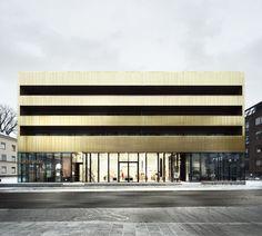 Sven-Harrys konstmuseum :: Arkitekturen