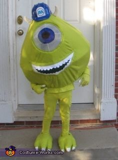 Mike Wazowski - Homemade Halloween Costume