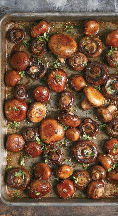 Looking for an easy and tasty side dish? This mushroom side dish only takes 20 minutes to make and is great with roast chicken.
