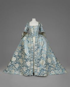 Robe à la française, mid-18th century From Whitaker Auctions