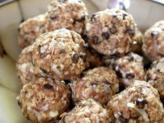 no-bake energy bites...sound yummy!