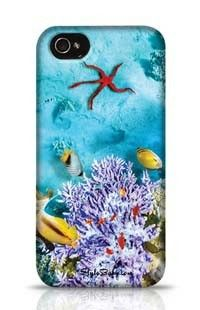 Under Water Apple iPhone 4 Phone Case