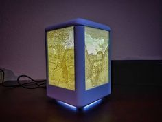 Lithophane lamp by kreatia3d #practical